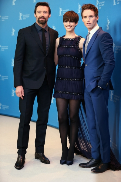 Les Misérables Photocall 63rd Berlinale International 02.09.13 - Hugh Jackm